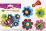 Dodatek dekoracyjny Craft-fun, Pianka z filcem kwiaty