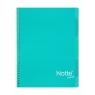 Kołozeszyt Projektowy A5 Narcissus Trend w kratkę 100 kartek jasnoniebieski