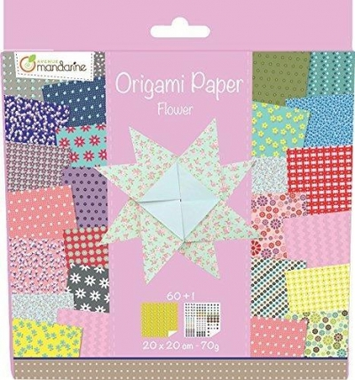 Papier origami Flower