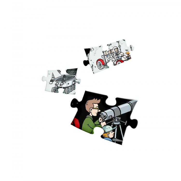 Czytaj z Albikiem. Wszechświat. Interaktywne mówiące puzzle (68851)