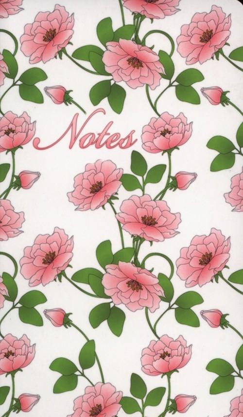 Notes bloczkowy ND 104 z długopisem Kwiaty