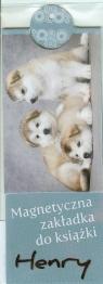 Magnetyczna zakładka Psy