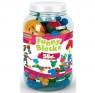 Klocki Funny Blocks - słoik 58 elementów (41970)Wiek: 1+