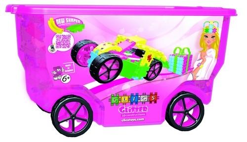 Clics Glitter Rollerbox 400