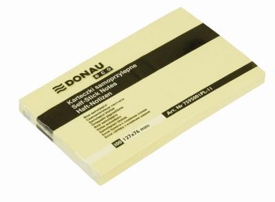 Notes samoprzylepny Donau Eco żółty 100k 127 mm x 76 mm (7595001PL-11)