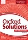 Oxford Solutions Pre-Intermediate Ćwiczenia Szkoła ponadgimnazjalna Falla Tim, Davies Paul A., Sobierska Joanna