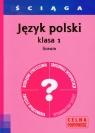 Ściąga Język polski 1