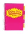 Kołozeszyt Pukka Pad Project Book A4 kratka różowy
