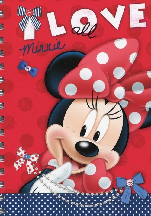 Notes spiralny A6 Minnie