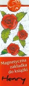 Magnetyczna zakładka Róże