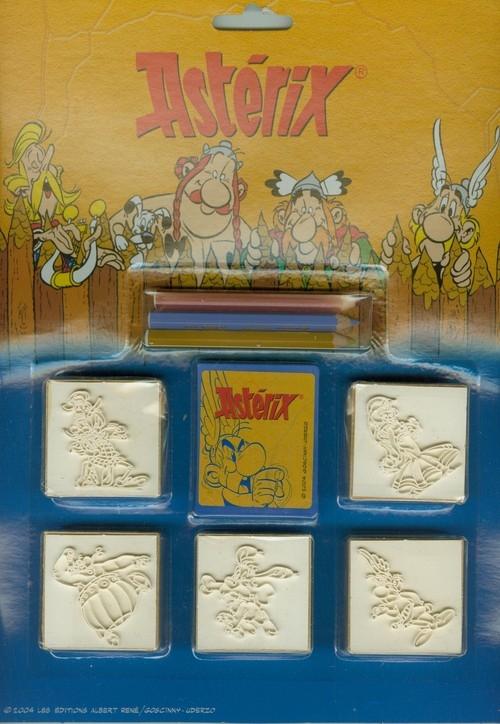 Pieczątki Asterix