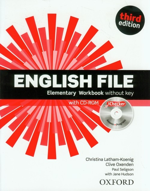 English File Elementary Workbook without key + CD-ROM Paul Seligson, Clive Oxenden, Christina Latham-Koenig