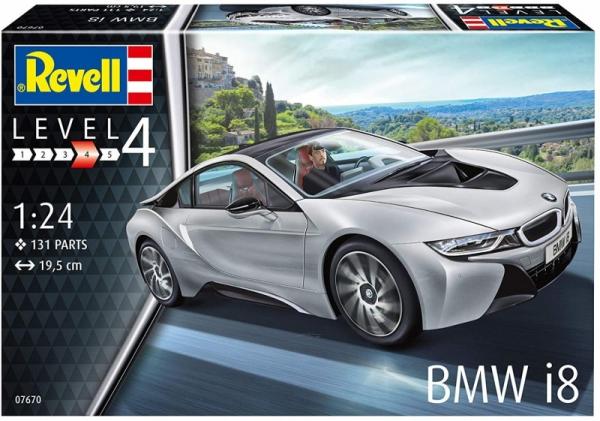 Model do sklejania BMW I8 (07670)