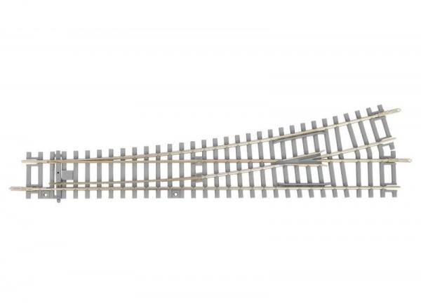 Zwrotnica lewa WL z betonowymi podkładami (55170)