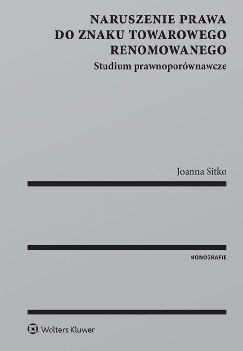 Naruszenie prawa do znaku towarowego renomowanego Sitko Joanna