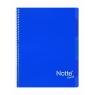 Kołozeszyt Projektowy A5 Narcissus Trend w kratkę 100 kartek ciemnoniebieski