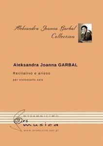 Recitativo e arioso na wiolonczelę Aleksandra Joanna Garbal