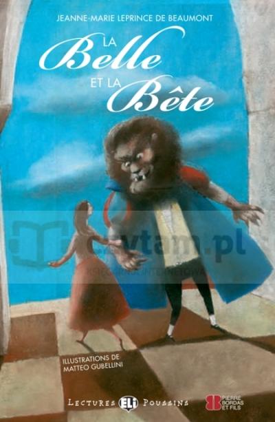 La Belle Et La Bete +CD Jeanne-Marie Leprince de Beaumont