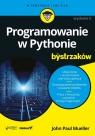 Programowanie w Pythonie dla bystrzaków