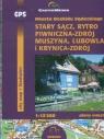 Miasta Beskidu Sądeckiego Stary Sącz, Rytro Plany miasta 1:12 500