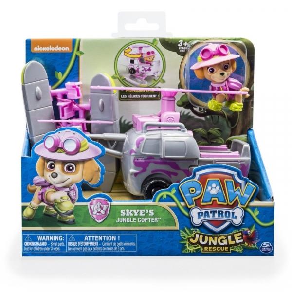 PSI PATROL Pojazd specjalny z figurką Jungle, Skye (6031703/20079028)