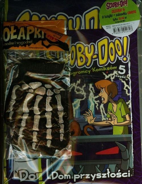Scooby Doo 4 Zestaw 2 książek + zabawka