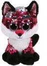 Maskotka Beanie Boss Flippables: Jewel - cekinowy lis 15 cm