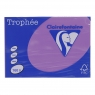 Papier kolorowy Trophee 1047 A3 - liliowa 160 g (xca31047)