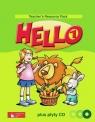 Hello! 1 Teacher's Resource Pack z płytą CD Szkoła podstawowa