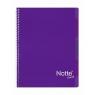 Kołozeszyt Projektowy A5 Narcissus Trend w kratkę 100 kartek fioletowy