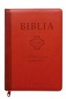 Biblia Pierwszego Kościoła ceglasta z paginatorami i suwakiem