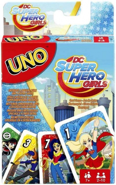 Uno karty Super Hero Girls