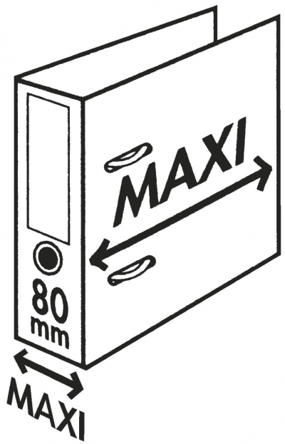 Segregator dźwigniowy Esselte Plus A4 żółty 85 mm (624076)