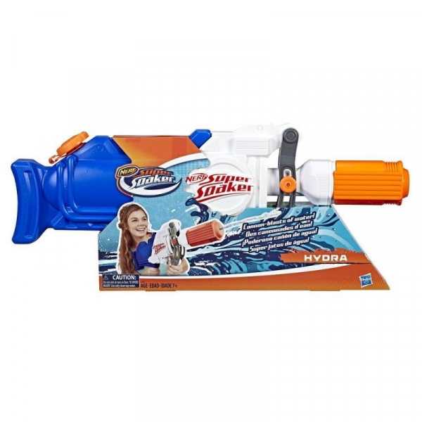 Blaster wodny Nerf Supersoaker Hydra (E2907)