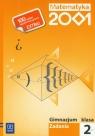 Matematyka 2001 2 zadania Gimnazjum Bazyluk Anna, Dubiecka Anna, Dubiecka-Kruk Barbara
