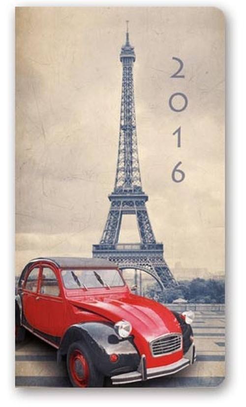 Kalendarz 2016 A6 11T Soft Paryż