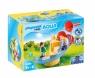 Playmobil 1.2.3 Aqua: Wodna zjeżdżalnia (70270) Wiek: 1,5+