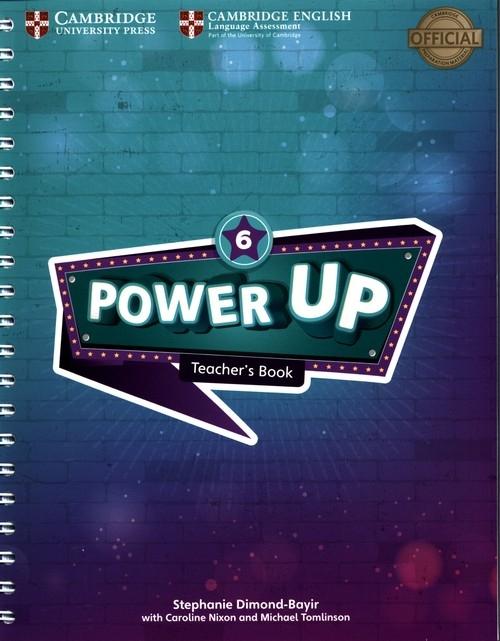 Power Up 6 Teacher's Book Dimond-Bayir Stephanie