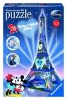 Puzzle 3D Wieża Eiffla z Myszką Miki (125708)