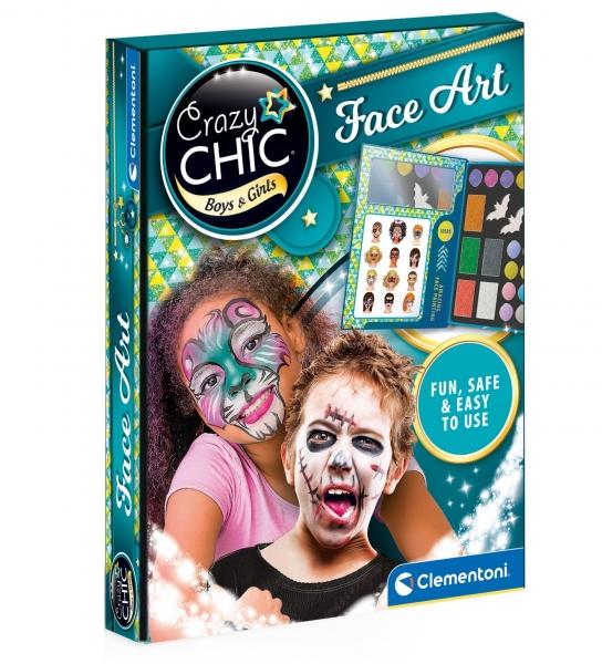 Crazy Chic: Zestaw do malowania twarzy (78770)