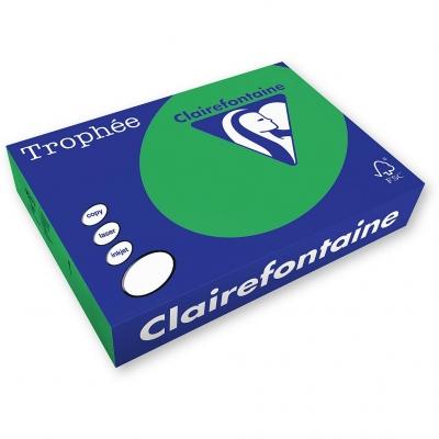 Papier kolorowy Trophee kolorowy A4 - zielony 160 g (xca41007)