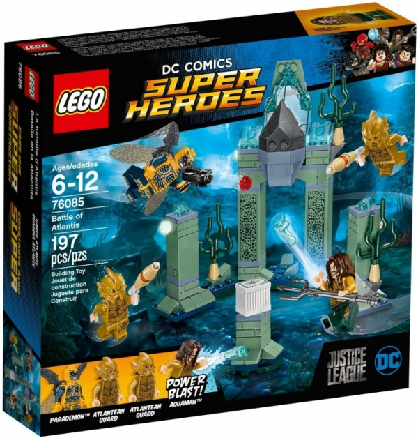 Lego DC Super Heroes: Bitwa o Atlantis (76085)