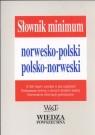 Słownik minimum norwesko - polski polsko-norweski