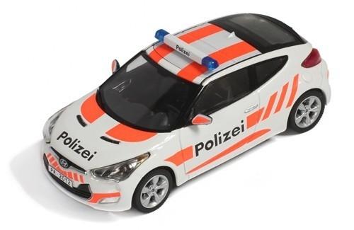 Hyundai Veloster Swiss Polizei 2012