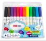 Pisaki Jumbo spiralne zapachowe - 12 kolorów