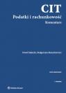 CIT Podatki i rachunkowość Komentarz Małecki Paweł, Mazurkiewicz Małgorzata