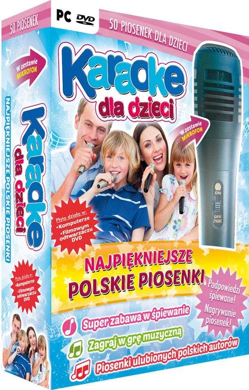 Karaoke dla dzieci Najpiękniejsze polskie piosenki z mikrofonem