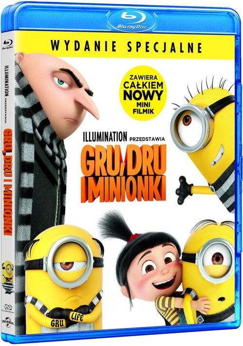 Gru Dru I Minionki Blu Ray