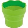 Pojemnik na wodę Clic&Go Faber-Castell - jasnozielony (181570 FC)
