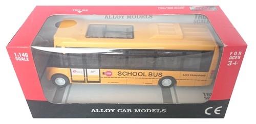 Alloy model Autobus szkolny żółty